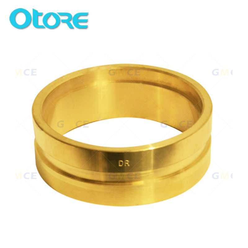 BA50 50mm Brass Roll Groove Ring Adapter Fitting